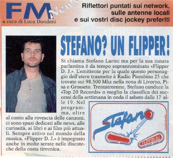 Stefano? Un Flipper!